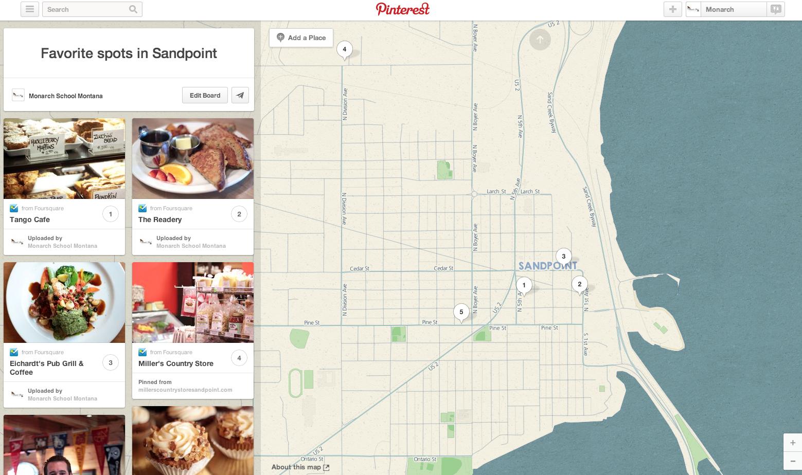pinterest introduces place pins keokee blog