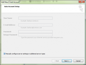 outlook-manually-configure