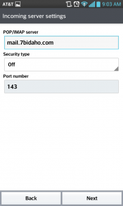 android-mail-port