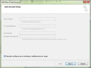 outlook-manually-configure